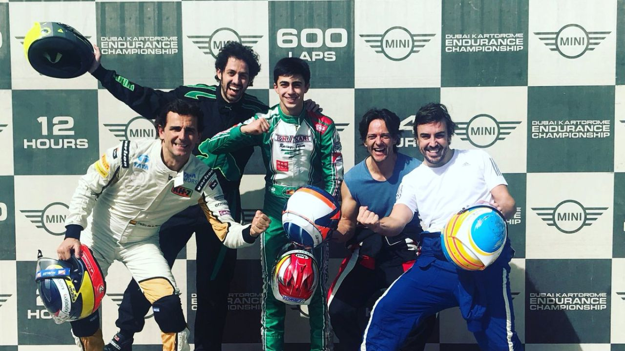 El FA Racing de Alonso