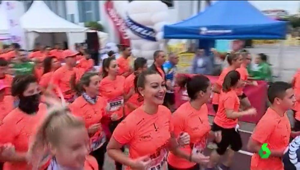 Canarias acoge la última carrera 'Ponle Freno' de 2017 con miles de corredores por la seguridad vial