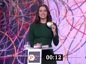 El minuto final de Arrimadas en 'El Debat'
