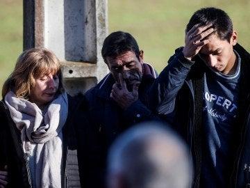 Más de un centenar de amigos y vecinos de Ana Enjamio se han reunido hoy en su aldea natal del municipio coruñés de Boqueixón para homenajear su memoria cuando se cumple un año de tan triste muerte