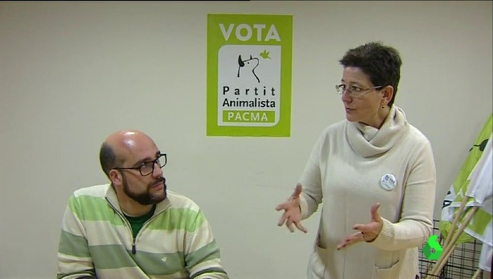 Pacma Cataluña es otra de las formaciones que se presentan al 21D