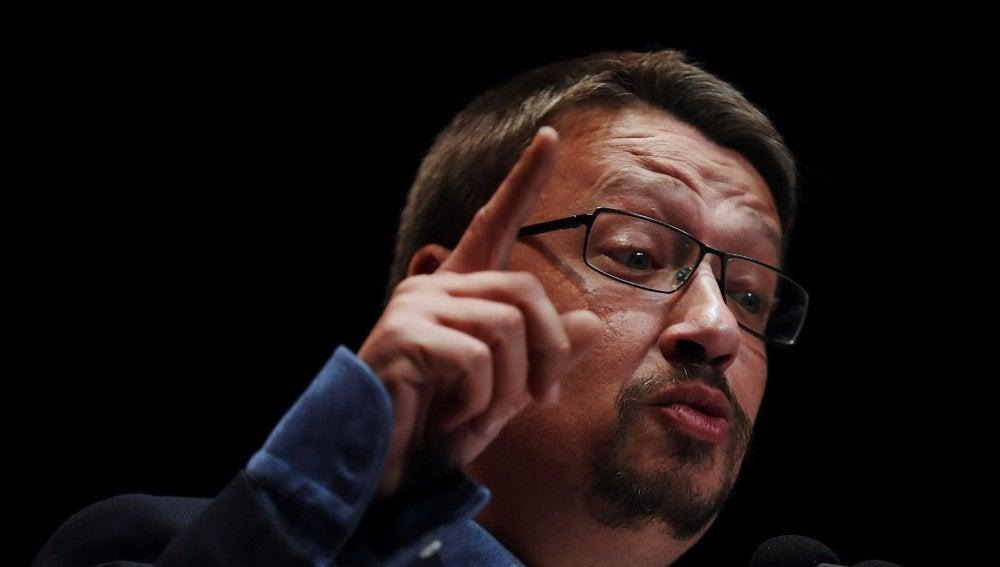 El candidato de Catalunya En Comú-Podem a la presidencia de la Generalitat, Xavier Domènech