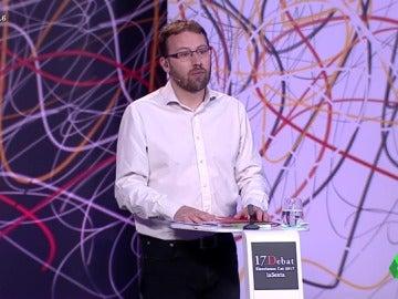 Vidal Arágones en 'El Debat'