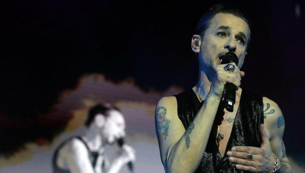 Concierto de la banda británica Depeche Mode en el WiZink Center de Madrid