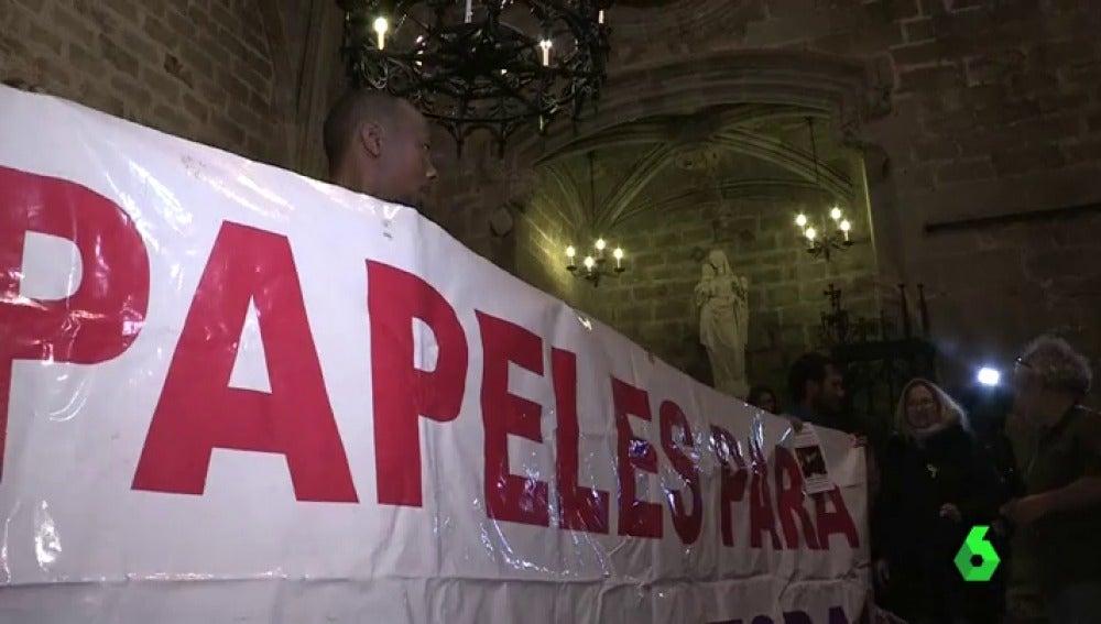 Huelga de hambre para reclamar los derechos de las personas migrantes