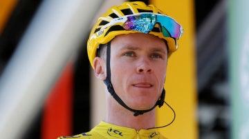 Froome, durante el Tour de Francia