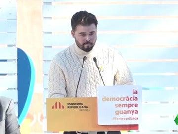 """Gabriel Rufián: """"Josep Borrell hablaba de desinfectar Cataluña, pues el mejor desinfectante es la cal viva"""""""
