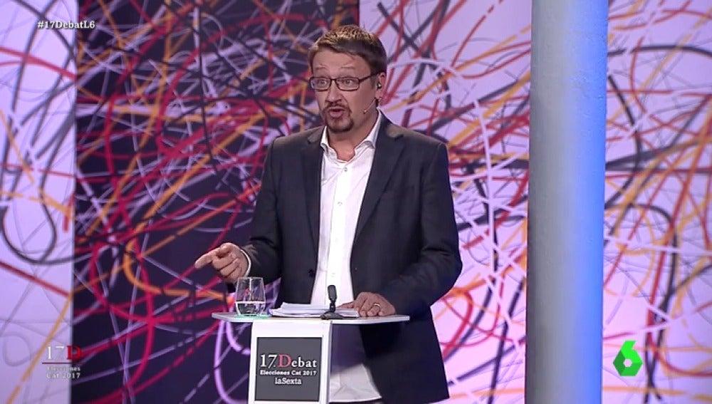 Xavier Domènech en 'El Debat'