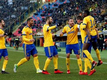 La Juventus golea al Bologna
