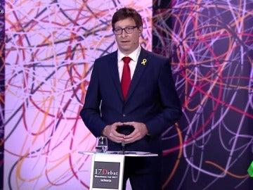 """El minuto de arranque de Carles Mundó (ERC) en El Debat: """"En nuestro programa no se contempla la unilateralidad"""""""