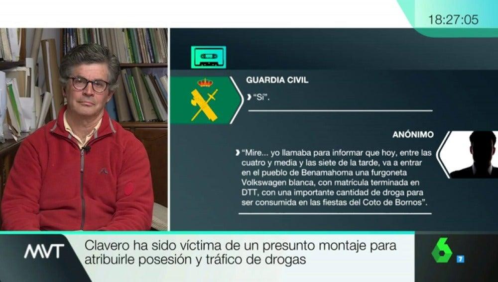 Juan Clavero en Más Vale Tarde