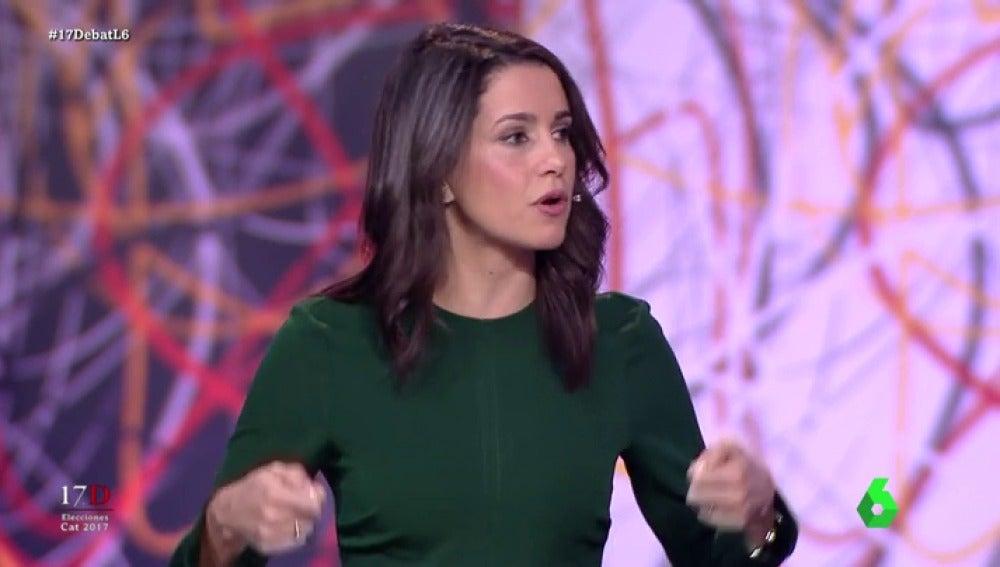 Inés Arrimadas en 'El Debat'