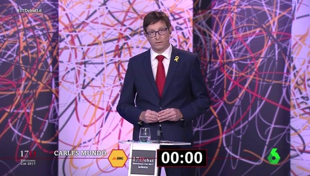 El exconseller Carles Mundó en 'El Debat'