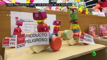 La Agencia Española de Consumo ha retirado ya en 2017 unos 400 modelos de juguetes en 2017.