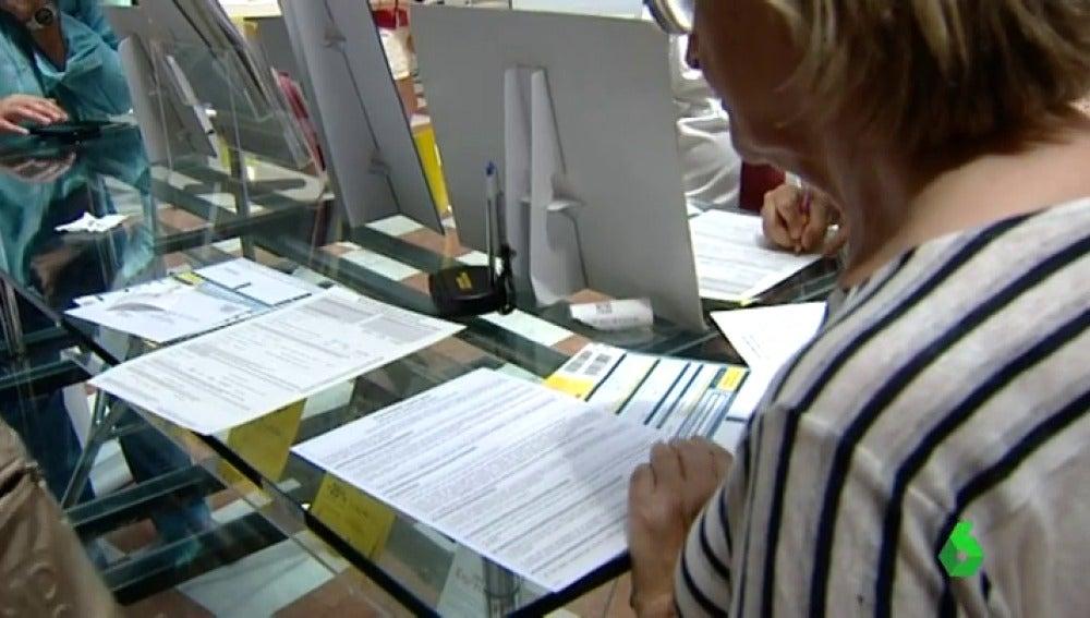 Voto por correo en Cataluña