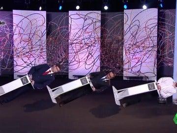Los políticos de la CUP, ERC y PDeCAT le hacen un 'jaque mate' a Miquel Iceta mientra se emitía el debate