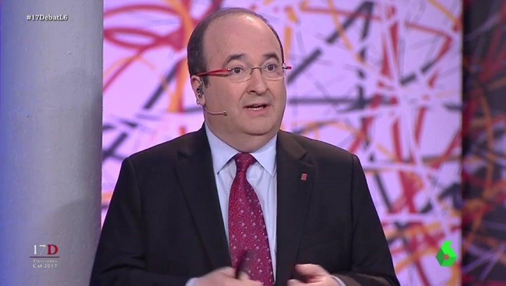 Miquel Iceta en 'El Debat'