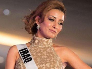 Miss Iraq ha sido amenazada de muerte por publicar un selfie