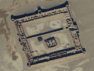 Ruinas en Afganistán