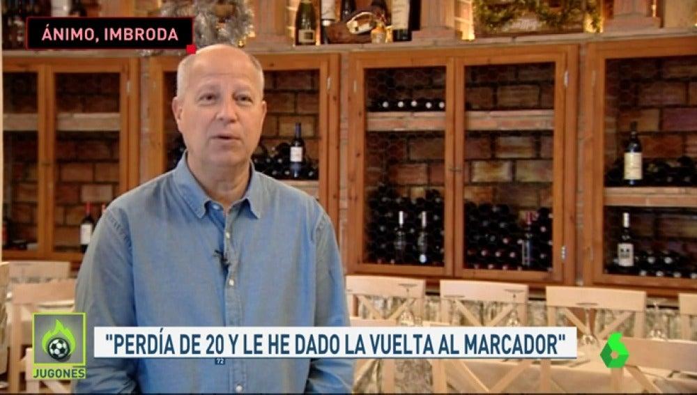 """Garbajosa elogia a Imbroda en su lucha contra el cáncer: """"Se me pone la piel de gallina"""""""