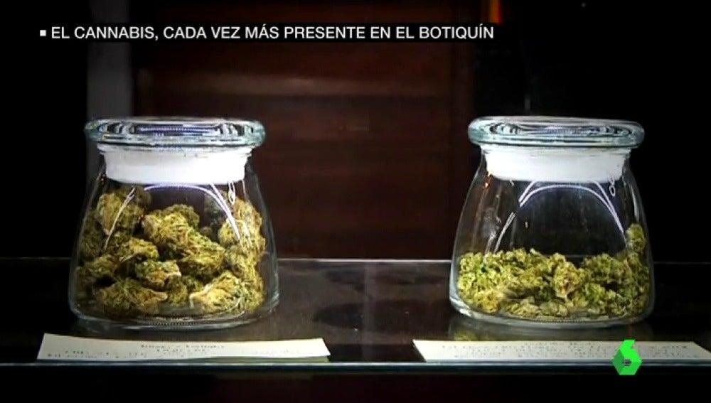 El cannabis, cada vez más presente en el botiquín