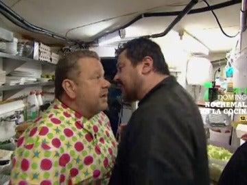 Este domingo revive las broncas de Alberto Chicote en 'Nochemala en la cocina'
