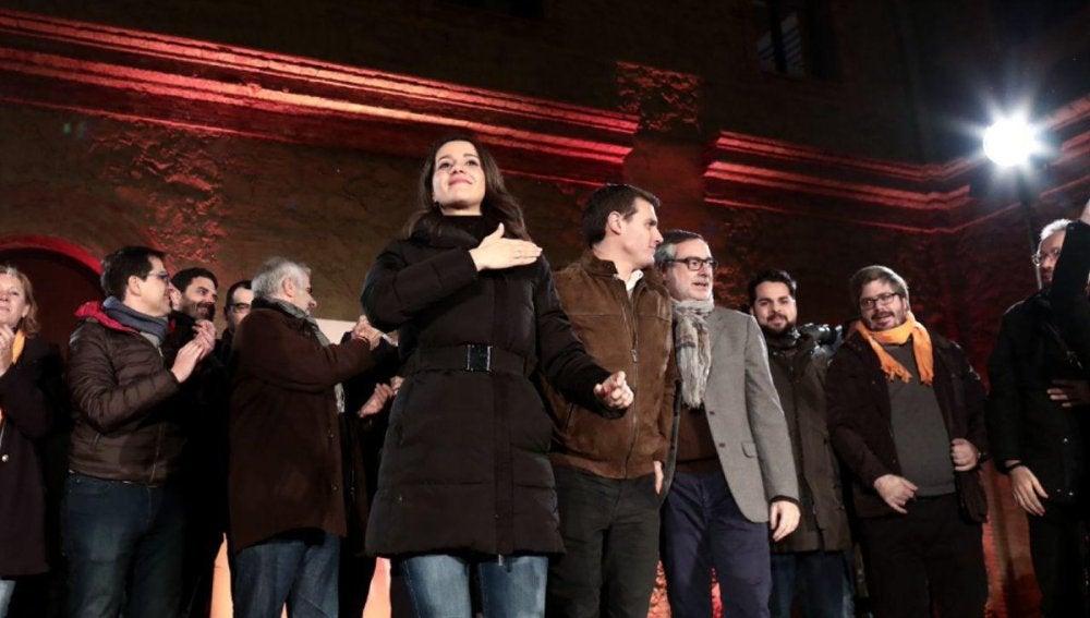 La candidata de Ciudadanos, Inés Arrimadas