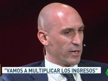 Rubiales presenta su candidatura a la RFEF