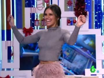 Cristina Pedroche baila en Zapeando