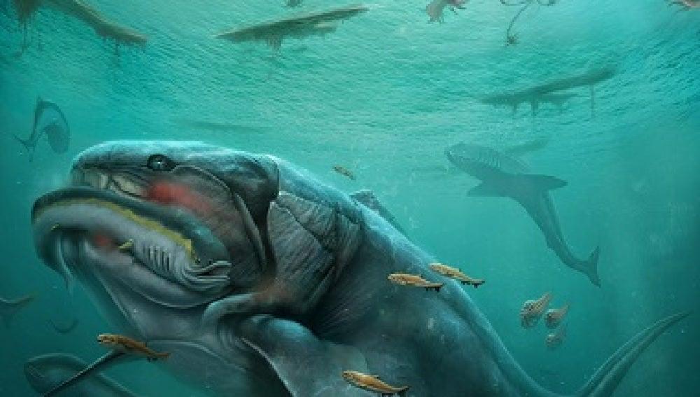 Asi fue uno de los primeros vertebrados hace mas de 350 millones de anos