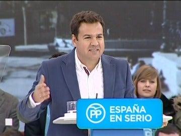 El alcalde de Las Rozas, José de la Uz