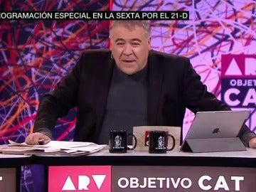 Antonio García Ferreras, en una edición de ARV