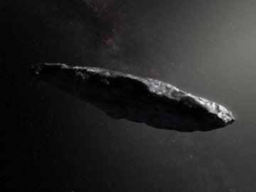 Aspecto del asteroide interestelar 'Oumuamua