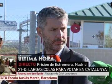 Abogado de Oriol Junqueras