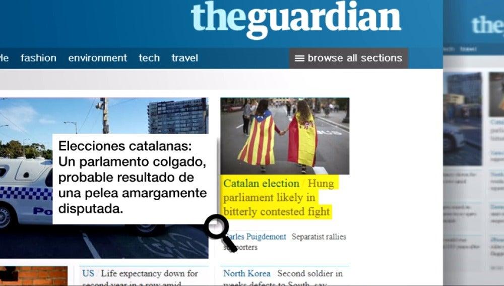 """Así sigue toda la prensa mundial las elecciones catalanas que podrían dejar un """"Parlament colgado"""""""