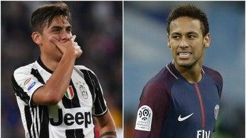 Dybala y Neymar podrían cambiar de equipo