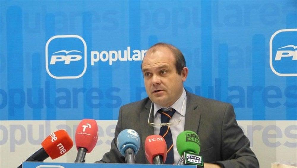 Pedro José García Hidalgo, concejal del PP en Cuenca