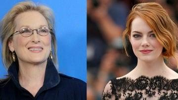 Meryl Streep y Emma Stone