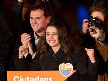 La candidata de Ciudadanos al 21D, Inés Arrimadas