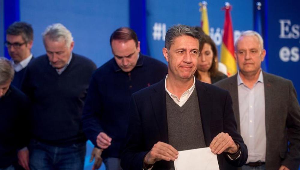 El cabeza de lista del PPC en las elecciones del 21D, Xavier García Albiol