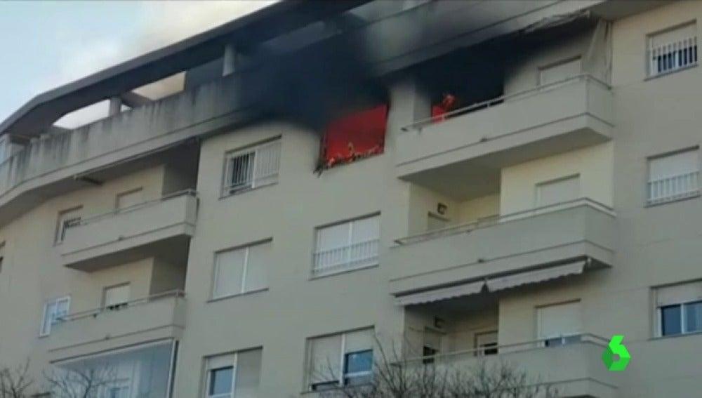 Incendio en Jerez de la Frontera
