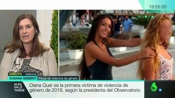 La fiscal de violencia de género, Susana Gisbert
