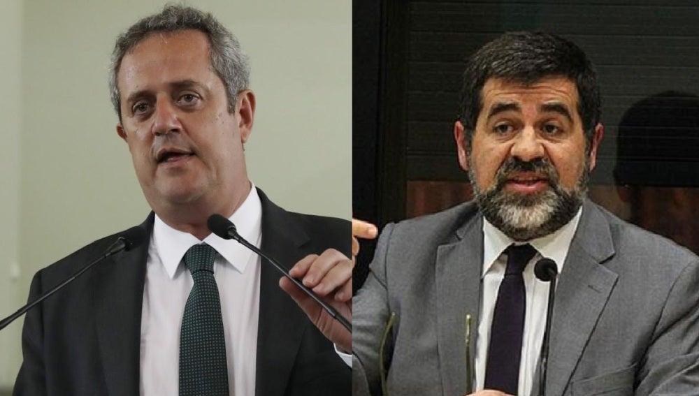 Joaquim Forn y Jordi Sànchez