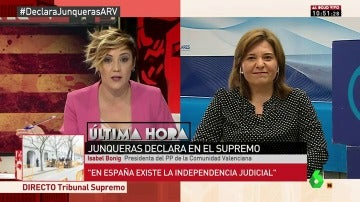 La presidenta del PP de la Comunidad Valenciana, Isabel Bonig