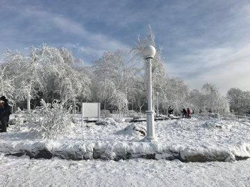 Temperaturas bajo cero en gran parte de EEUU por la gran tormenta de invierno