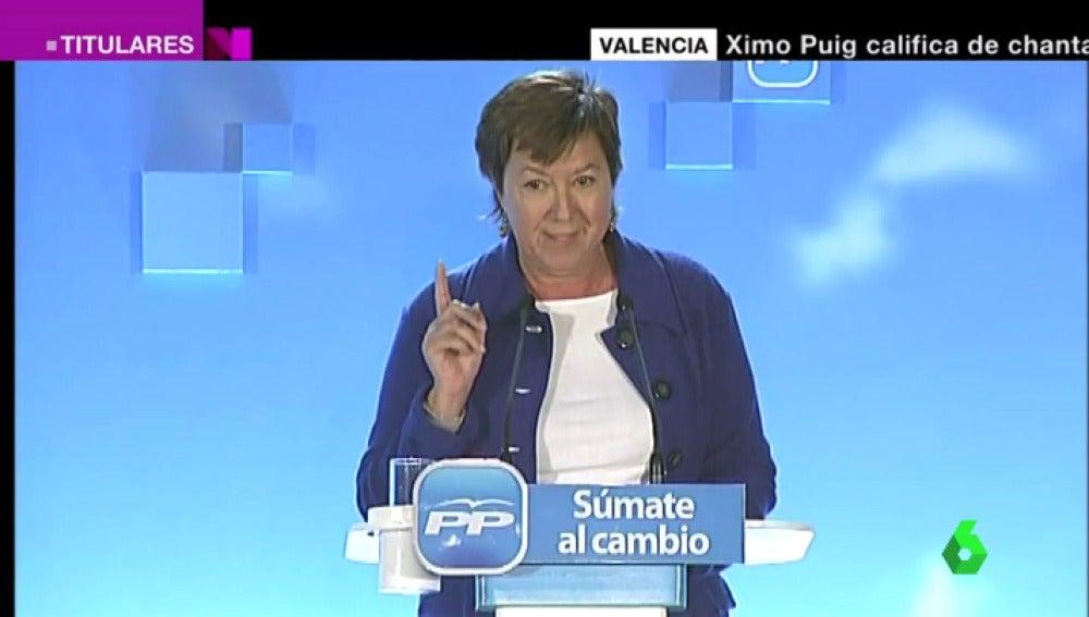 La senadora del PP, Pilar Barreiro