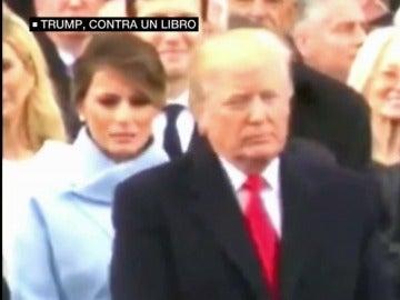 Donald Trum frente a Melania