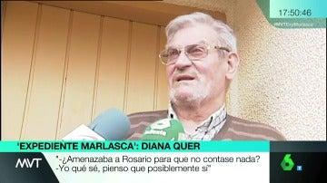 El padre de Rosario, mujer de 'El Chicle'