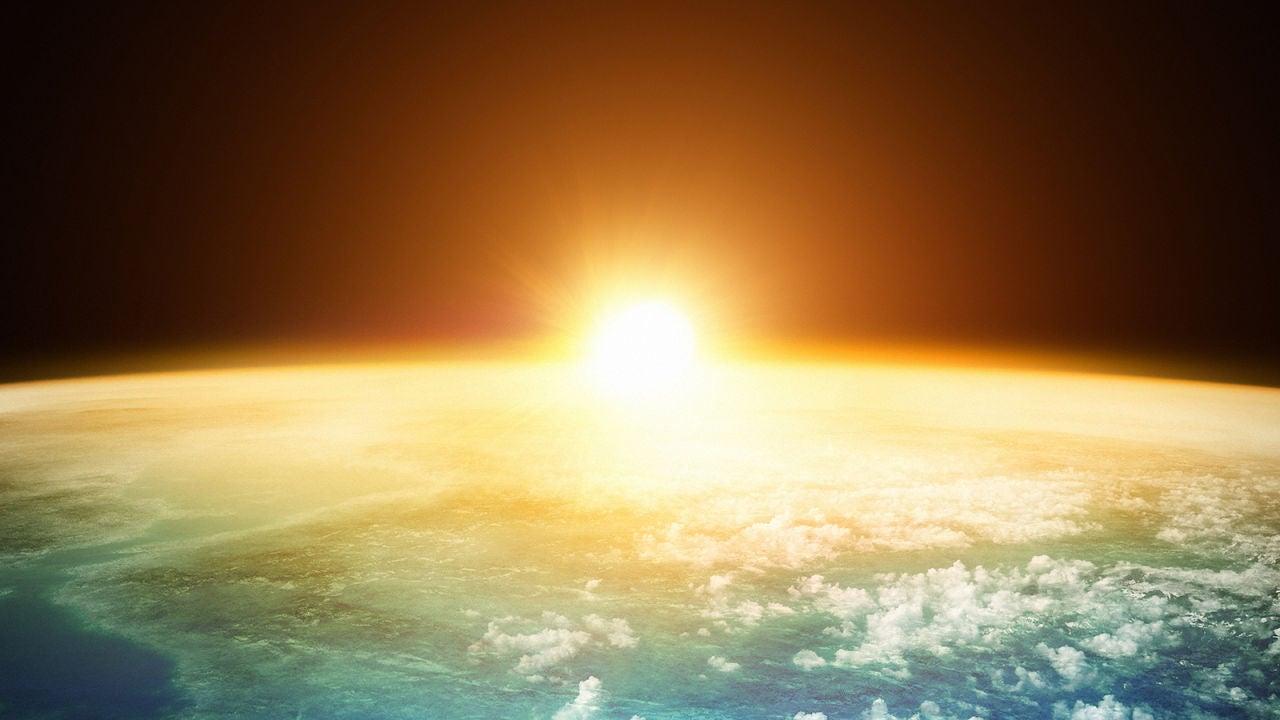 El Sol y la Tierra