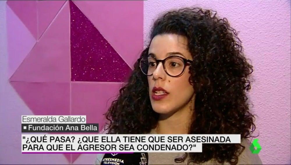 Esmeralda Gallardo, fundación Ana Bella